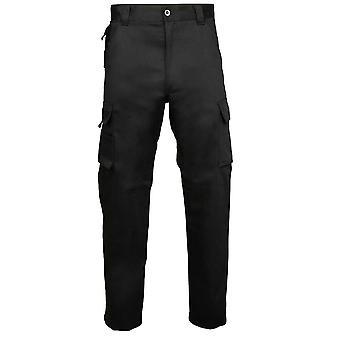 Rty Herenbroeken duurzame werkkleding Premium Marine, zwart, regelmatige, lange been lengtes