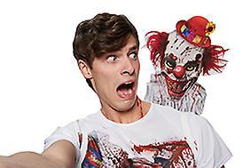 Clown Selfie Shocker Clownshirt Kostüm Unisex