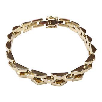 14 k Yellow Gold gourmette bracelet