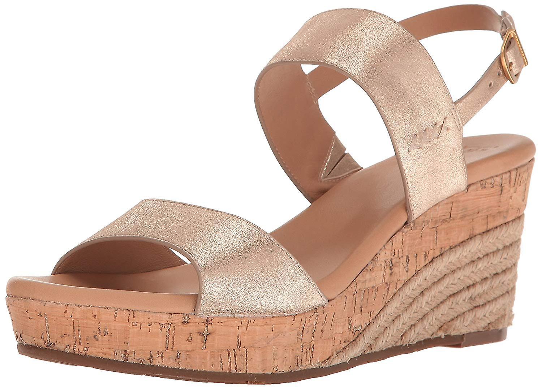 UGG kobiet Elena metaliczne Wedge Sandal Ari6T