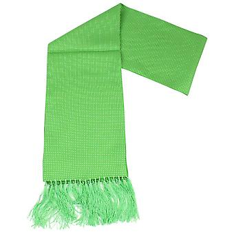 Knightsbridge kaulavaatteita Pin Dot mekko huivi - kirkkaan vihreä