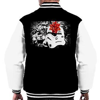 Original Stormtrooper Helmet Christmas Gift Men's Varsity Jacket