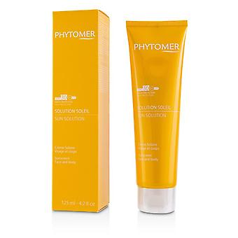Phytomer Sun Solution Sunscreen Spf 30 (for Face And Body) - 125ml/4.2oz