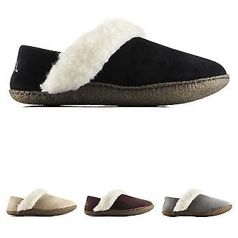 Womens Sorel Nakiska Slipper II Winter Durable Warm Fur Suede Slippers
