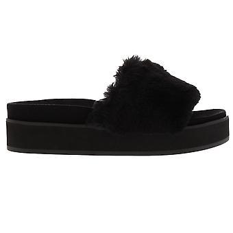 Steve Madden Womens Dreamy Flat Sandals Strap Platform