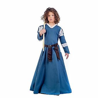 Middle Ages Edora kind kostuum middeleeuwse boer markt vrouw kostuum kids meisje