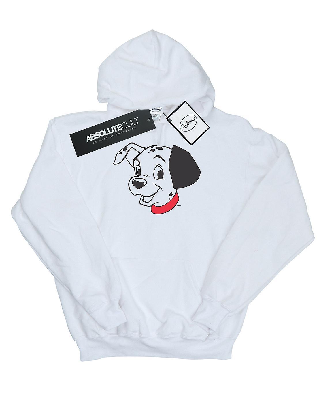 Disney Girls 101 Dalmatians Dalmatian Head Hoodie
