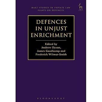 Försvar i obehörig vinst (Hart studier i privat lag: essäer om försvar)