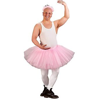 Mr Ballerina Adult Costume Pink