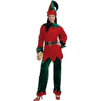 Festive Elf Adult Plus Costume
