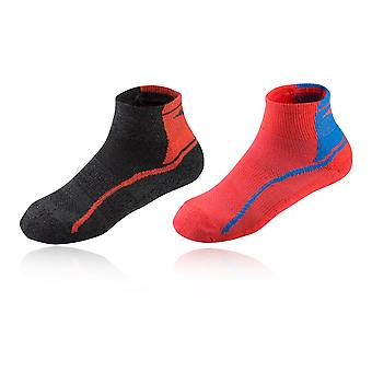 Mizuno Active Training Mid Socks (2 Pack)