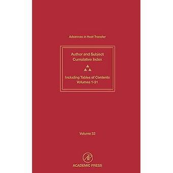 Kumulativa Index kumulativa ämne och författare index och innehållsförteckningar för volymer 131 av Hartnett & James P.