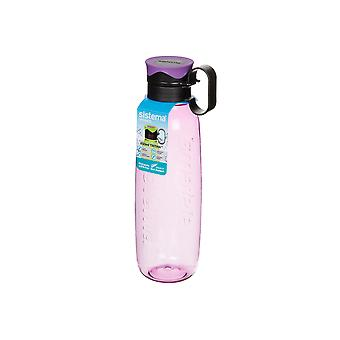 Sistema Tritan Traverse Bottle, 800ml Purple