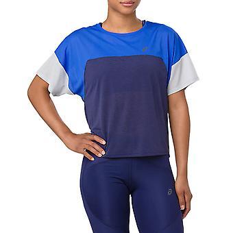 T-shirt running das mulheres do estilo de ASICS-SS19