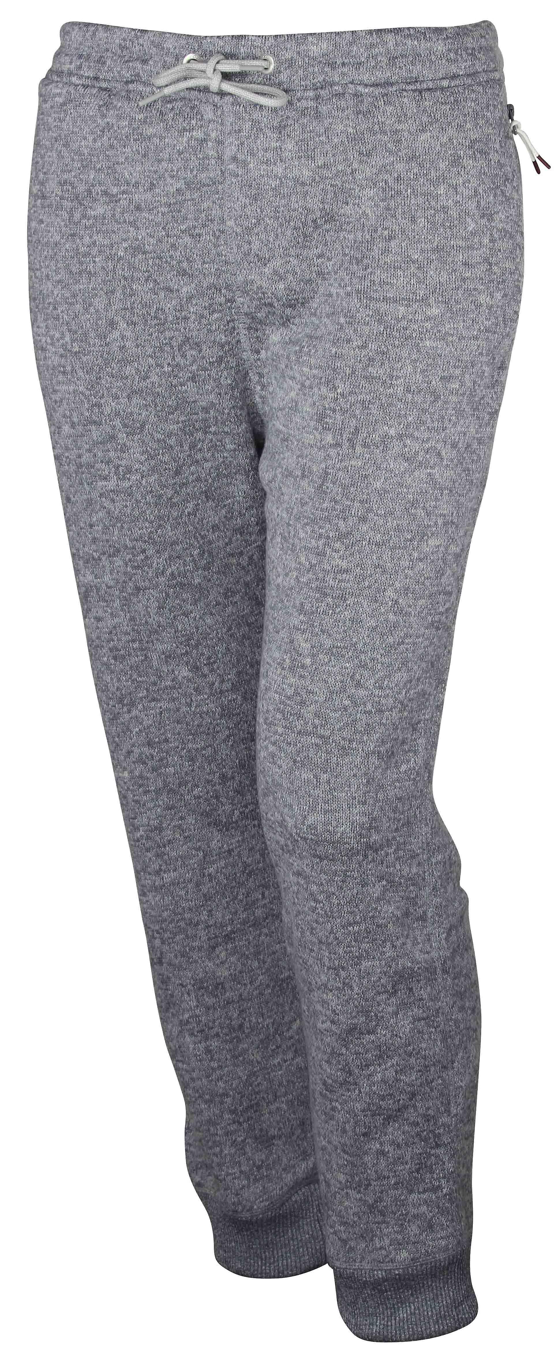 Quiksilver Mens Keller Fleece Pants - Light Heather Gray