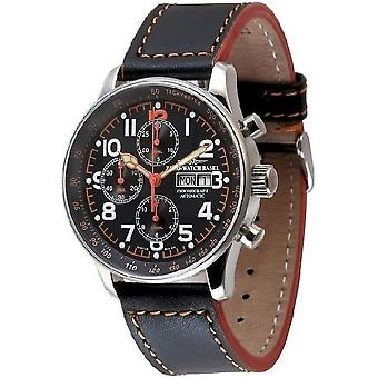 Zeno-watch mens watch X-large pilot chronograph-date special P557TVDD-a17
