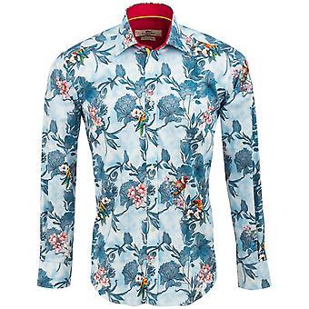 Claudio Lugli tropische vogel afdrukken Mens Shirt