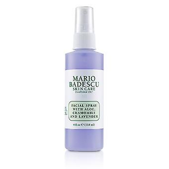 Mario Badescu Facial Spray con Aloe manzanilla y lavanda - 118ml / 4oz