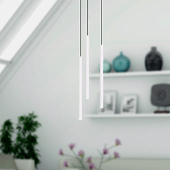 Canalis 3 Mini Pendant Lighting White