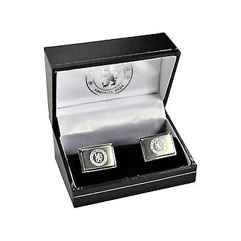 Chelsea FC Boxed Stainless Steel Cufflinks