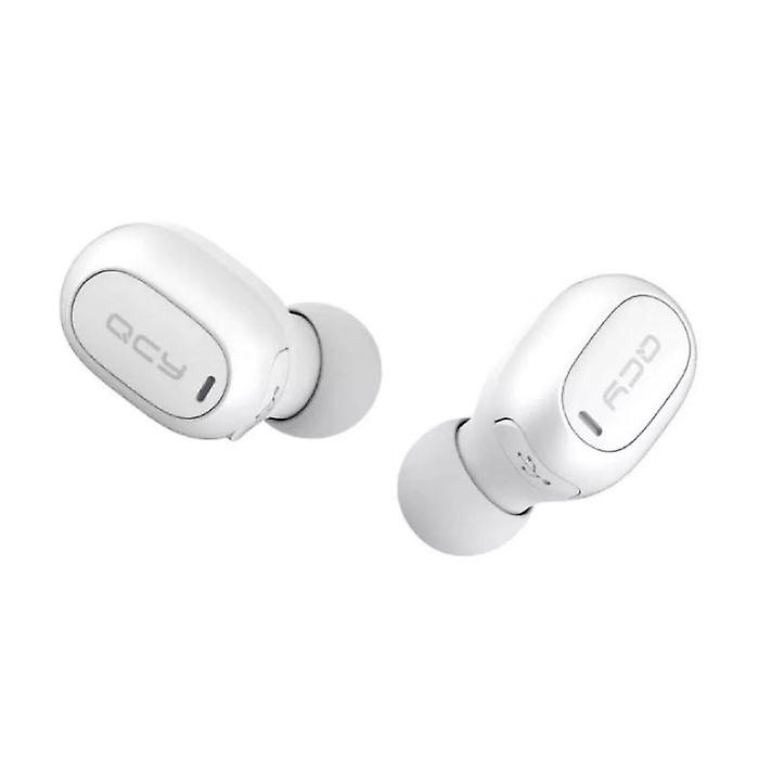 QCY QCY T1C Wireless Bluetooth 5.0 Earphones Air Wireless Pods Earphones Earbuds White - Clear Sound