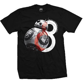 Uomo Star Wars BB-8 Big Eight nero T-Shirt