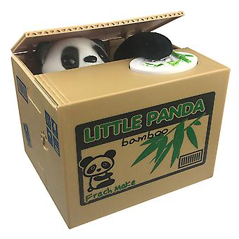 Mynt stjäla Panda Money bank