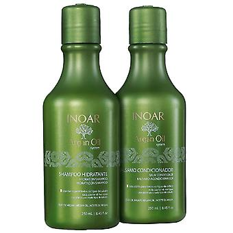 Inoar Duo Argan Oil Hair Care System - 250ml x 2