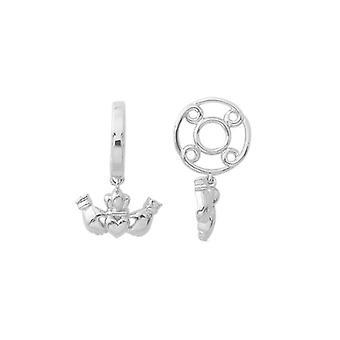 Storywheels الفضة Claddagh تتدلى سحر S179