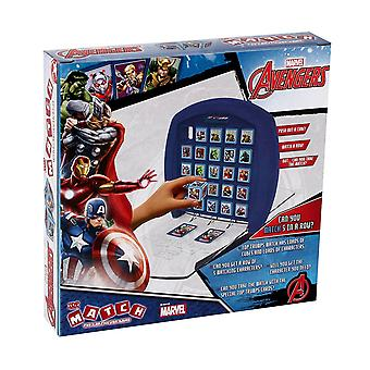 Top Trumps Marvel Avengers Match