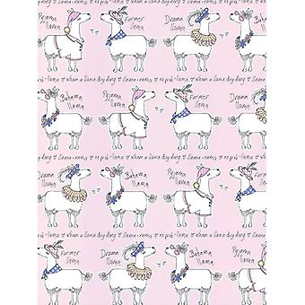 Llama-Rama Wallpaper Belgravia