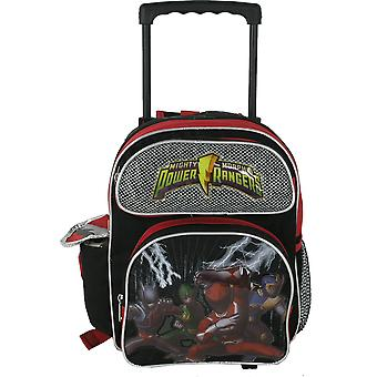 Rucsac de rulare mici-Power Rangers-Black School bag 496555