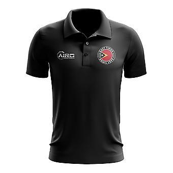 East Timor Football Polo Shirt (Black)