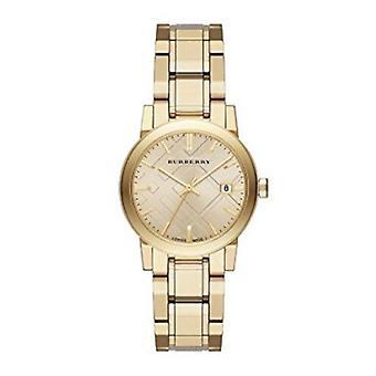 Burberry Bu9134 vaalea Champagne Dial Light kulta-tone naisten katsella