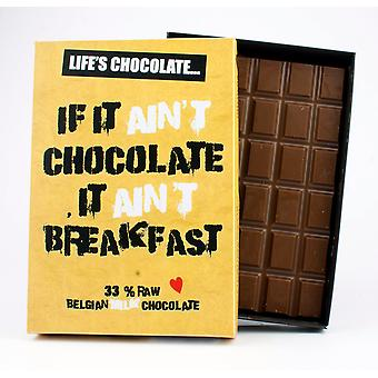 Funny Boxed Chocolate Quote Gift For Men Women Best Friend Greeting Card for Him or Her LC104