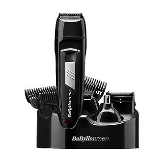 BaByliss 7056CU 8 in1 All Over Body Hair Trimmer Grooming Kit + Nose &  Ear