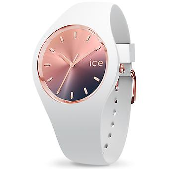 Ice-watch sunset midnight Japanese Quartz Analog Woman Watch with Silicone Bracelet IC015749