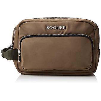 Bogner 4190000207 ruskea naisten järjestäjä laukku (Khaki 603)) 11x 17,5 x26 cm (B x H x T)