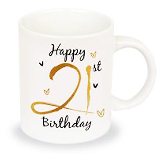 Simply Gifts Foiled Birthday Mug