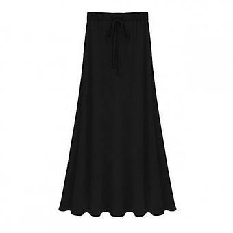 Stretch modal bomull sida Split kjol