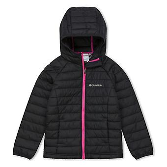 Columbia Powder Lite meisjes Junior Hooded Jacket | Zwarte