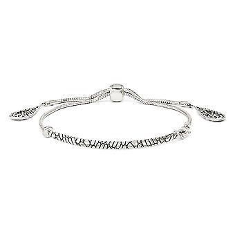 3,5 mm 925 Sterling Silber poliert filigrane Teardrops verstellbare Armband Schmuck Geschenke für Frauen