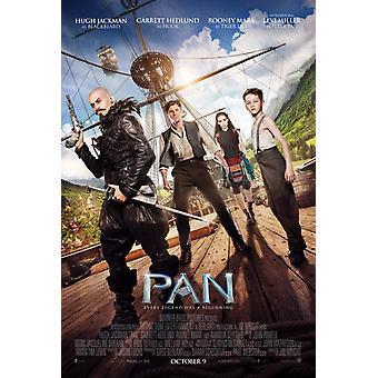 Pan Original Movie Poster Double Sided Regular Style B