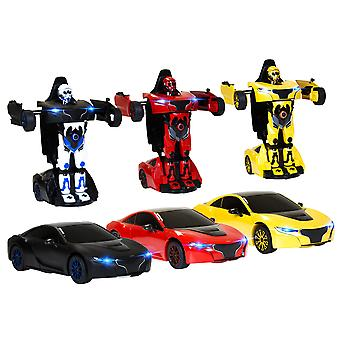 Charles Bentley RS X MAN Raster Licensed Transformer Remote Control Car 2 in 1 Toy - Fully Assembled - 3 Colours