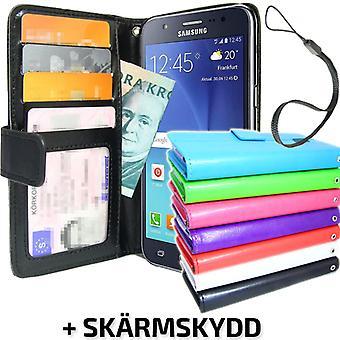 Samsung Galaxy J5 Brieftasche Fall ID/Foto Tasche + Bildschirm Schutz