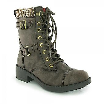 Rocket Dog Thunder Ladies Ankle Boots Brown