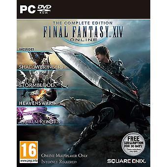 الخيال النهائي الرابع عشر مجموعة كاملة PC دي في دي لعبة
