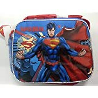 Lunch Bag - DC Comic - Superman - Man of Steel Red & Blue New Case 620554