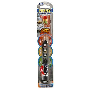Firefly kids! star wars light up timer toothbrush, soft, 1 ea