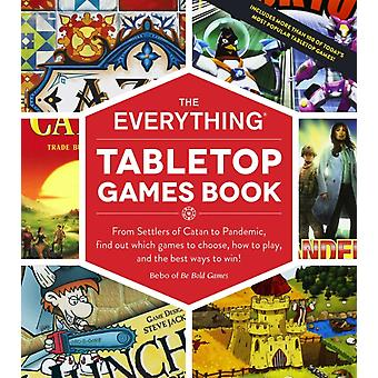 Everything Tabletop Games Book by Bebo